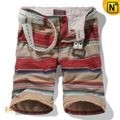 Colorful Cargo Shorts for Men