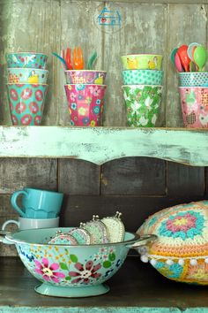 niebieska chata: Colors makes me Happy! :)
