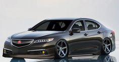 2015 Acura TLX Modified