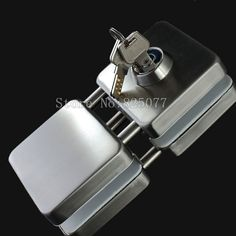 88.02$  Buy here - http://ali9hv.worldwells.pw/go.php?t=32592394508 - Thick reinforced Glass Door Lock,all sus304 stainless steel,No need to open holes,Frameless glass door CP408 88.02$