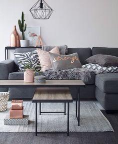 Antraciet, blush, koper, grijs.⚜ #interior #interieur #dutch #inspiration…
