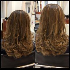 lindos corte de cabelo feminino em camadas