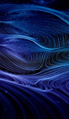 I love how it like waves and waves of color beautiful Graphic Wallpaper, I Wallpaper, Wallpaper Backgrounds, Map Design, Graphic Design, Generative Art, Background Pictures, Blue Aesthetic, Visual Effects