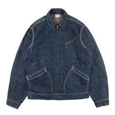 Vintage Jacket, Vintage Denim, Lee Denim Jacket, Canvas Jacket, Denim Patchwork, Work Jackets, Denim Fashion, Jeans Style, Vintage Outfits