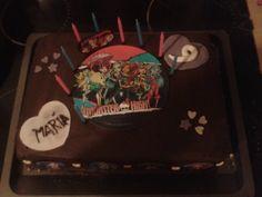 meine Monster High Schoko Torte