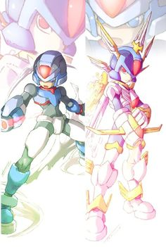 megaman zero z copy x - Google Search