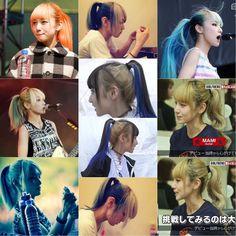 いいね!36件、コメント1件 ― Hpone Htet Linさん(@hpone_htet_lin)のInstagramアカウント: 「those Ponytails I can die for 😍❤️ #scandal #scandalband #scandal_mami #mami #mamisasazaki #スキャンダル…」