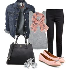 """""""A Little Blush"""" by michellesolinas on Polyvore"""