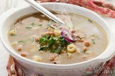 Receita de Caldinho de feijão com macarrão em receitas de sopas e caldos, veja essa e outras receitas aqui!