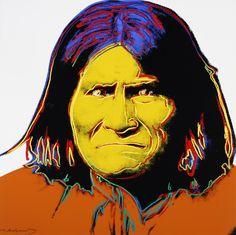 Andy Warhol (American, 1928-1987) Cowboys and Indians: Geronimo, 1986