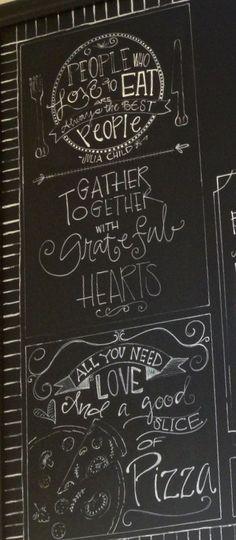 Deyo's Italian Bistro Chalkboard