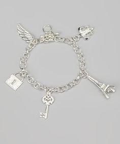 Silver Charm Bracelet. where is mine, i wonder?