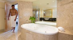 Bathroom at 5 star hotel: Rydges Melbourne. This hotel's address is: 186 Exhibition Street Melbourne CBD Melbourne and have 363 rooms Melbourne Cbd, Pent House, Pacific Ocean, 5 Star Hotels, Corner Bathtub, Relax, Bathroom, Spa, Australia