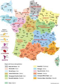 carte routes et autoroutes de France | Francophilia | Pinterest | France geography, France map ...
