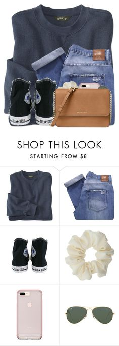 """Please join my group!!!"" by awillis296 ❤ liked on Polyvore featuring Nobody Denim, Converse, Miss Selfridge, Ray-Ban, Michael Kors and 13"