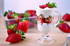 Strawberry Parfait | WIN-WIN FOOD