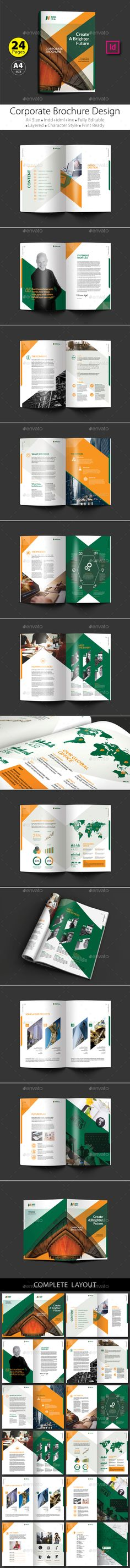 Company Profile Brochure Company profile, Brochure template and - business company profile template