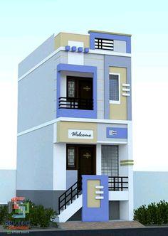 House Balcony Design, House Outer Design, Single Floor House Design, House Outside Design, Village House Design, Kerala House Design, Bungalow House Design, House Front Design, Small House Design