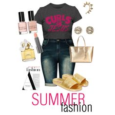 Curl & Jesus by ray-lisa on Polyvore featuring polyvore, fashion, style, Stussy, MICHAEL Michael Kors, EF Collection, Rachel Entwistle, Easy Spirit, Marc Jacobs and Bobbi Brown Cosmetics