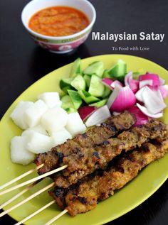 To Food with Love: Malaysian Satay Recipe