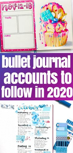 Bullet Journal: 50+ accounts you need to follow in 2020 Bullet Journal Contents, Bullet Journal Monthly Spread, Bullet Journal Tracker, Bullet Journal Hacks, Bullet Journal How To Start A, Bullet Journal Layout, Bullet Journal Inspiration, Bullet Journals, Journal Ideas