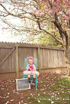 Toddler photography - children - little girls - magnolia tree - tutus -