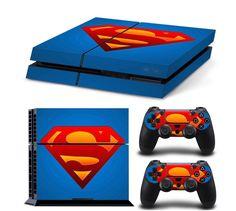 Original Superman PS4 Skin for Console