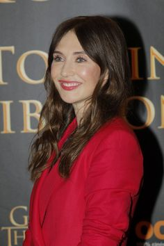 Carice Van Houten at Game of Thrones Press Conference, Paris (31 May, 2018)