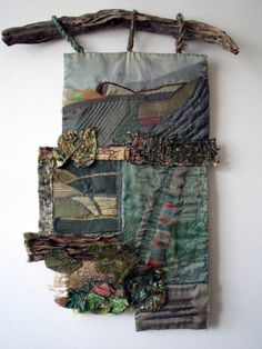 https://flic.kr/p/73U9mB | Autumn | Wall hanging by Jenny Beasley. She used memories of a South Yorkshire childhood to inform this piece. I thought it deserved a wider audience so I persuaded her to let me photograph it. Mixed media