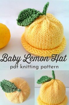 Baby Hat Knitting Pattern, Baby Hat Patterns, Baby Hats Knitting, Knitting For Kids, Loom Knitting, Knitting Stitches, Knitting Patterns Free, Knitted Hats, Crochet Patterns