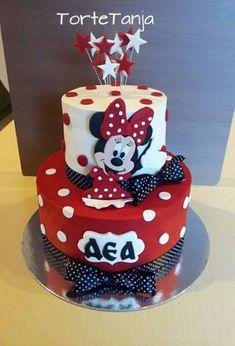 Mini souris – Torten und Dekoration – # – … Mini souris – pies and decoration – # – Minni Mouse Cake, Bolo Da Minnie Mouse, Minnie Cake, Mickey Cakes, Pastel Mickey, Mickey Mouse First Birthday, Friends Cake, Character Cakes, Mini Mouse