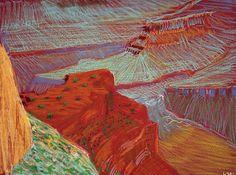 david hockney a closer grand canyon - Google Search