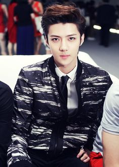 120524 World of Calvin Klein in Seoul - SEHUN V: EXO-E.T.TEAM
