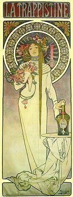 Alfons Mucha - La Trappistine - 1897