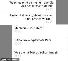 Eingebildete Pute #Fail #sms #Freundinnen #pute #Eingebildete
