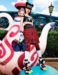 Japanese Vogue takes over Disneyland x