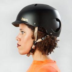 Bern Lenox ladies bike helmet Matte Black 2014