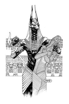 Anubis by Heri-Shinato