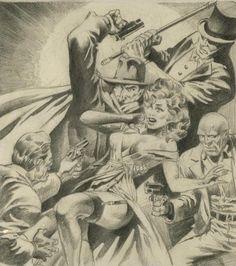 Cap'n's Comics: Shadows of Shadows by Jim Steranko