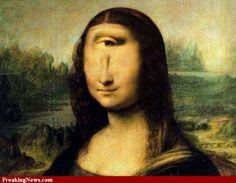 Most Famous Paintings, Famous Artists, Famous Artwork, Classic Paintings, Michelangelo, Obras Leonardo Da Vinci, Lisa Gherardini, La Madone, Mona Lisa Parody