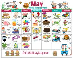 may holiday calendar Holidays In May, Weird Holidays, Unusual Holidays, National Days, National Holidays, Holiday List, Holiday Fun, National Holiday Calendar, Special Day Calendar