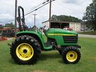 NICE  JOHN DEERE 4610   4X4  TRACTOR WITH ONLY 406 HOURS