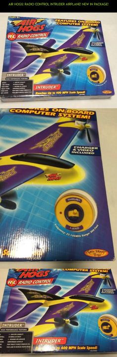 Air Hogs: Radio Control Intruder Airplane! New In Package! #racing #kit #parts #air #intruder #shopping #gadgets #products #plans #fpv #technology #camera #drone #hogs #tech