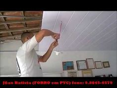 PVC Decorative Wall, Ceiling and Flooring Panel Installation Video Pvc Ceiling Design, Pvc Ceiling Panels, Sky Ceiling, Ceiling Design Living Room, Pvc Panels, False Ceiling Living Room, Tv Wall Design, Living Room Designs, Ceiling Ideas