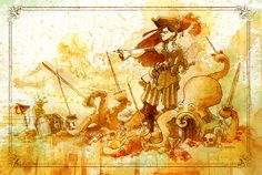 By Brian Kesinger - Otto and Victoria - pirate