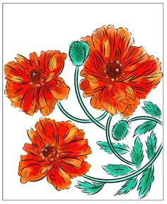 Nicole's Free Coloring Pages: March 2020 Flower Coloring Pages, Free Coloring Pages, Colorful Flowers, Wild Flowers, Winter Princess, 9 December, Mysterious Girl, Modern Princess, Yellow Leaves