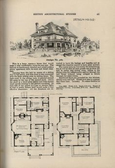 Artistic city houses, no. Architecture Plan, Architecture Details, Vintage House Plans, Cost To Build, Price Quote, City Living, Mid Century House, Kit Homes, The Borrowers