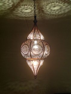 Moroccan style lamp from Indiska