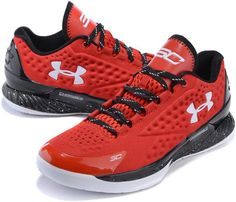 Under Armour Curry One Low Elite 24 Red White0
