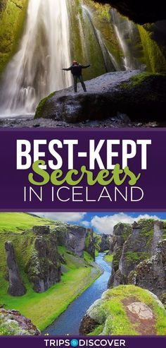 Top 10 Best-Kept Secrets in Iceland - Travel - Iceland - Reise Places To Travel, Places To See, Travel Destinations, Iceland Adventures, Iceland Travel Tips, Iceland Road Trip, Voyage Europe, Future Travel, Vacation Spots